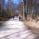 イースター最終日。大自然の中サイクリングを楽しみました!