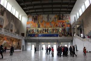 オスロ市庁舎 大広間