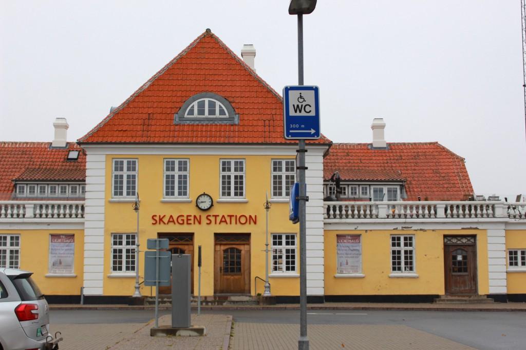 skagen駅