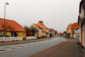 黄色い家々