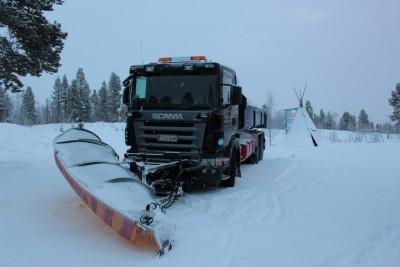 雪かきトラック