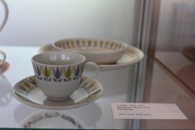 チューリップの陶器