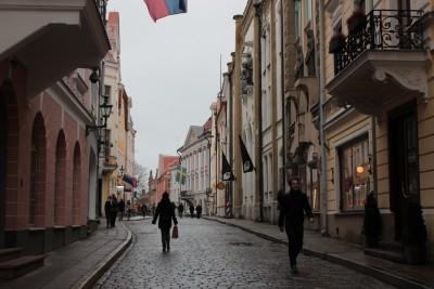 雰囲気ある旧市街