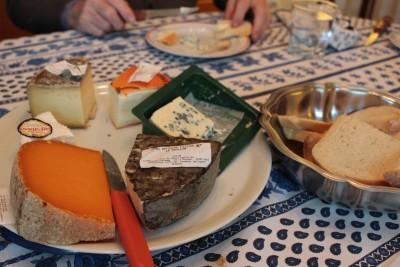 食後のチーズ
