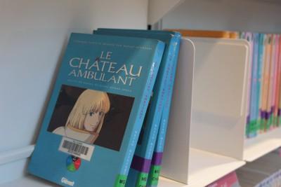 図書館にハウルの本が